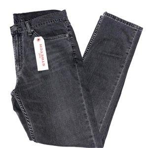 NWT Men Levi 511 Slim Gray Jeans Size 36